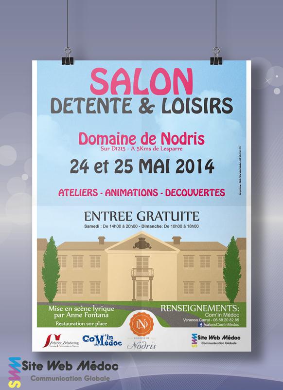 Affiche Salon Détente & Loisirs