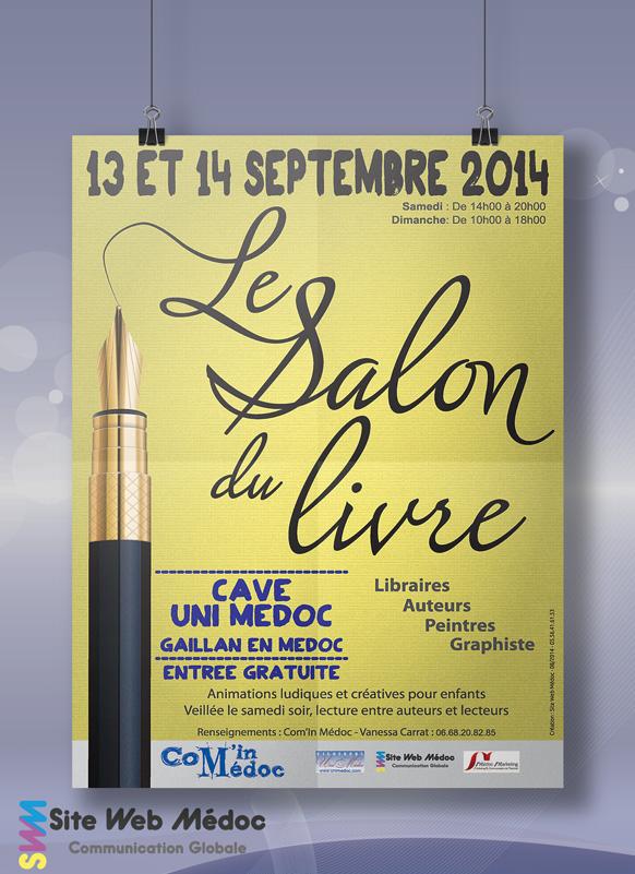 Affiche Salon du Livre 2014