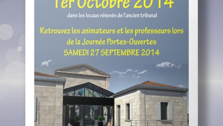 Affiche Mairie Lesparre : CALM 08.2014