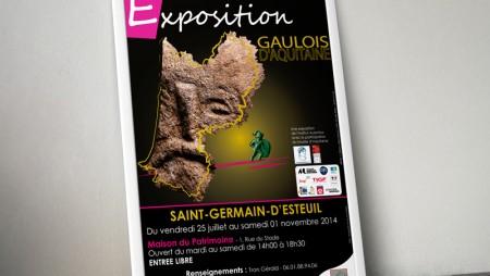 Affiche_exposition_Gaulois_Aquitaine_2014