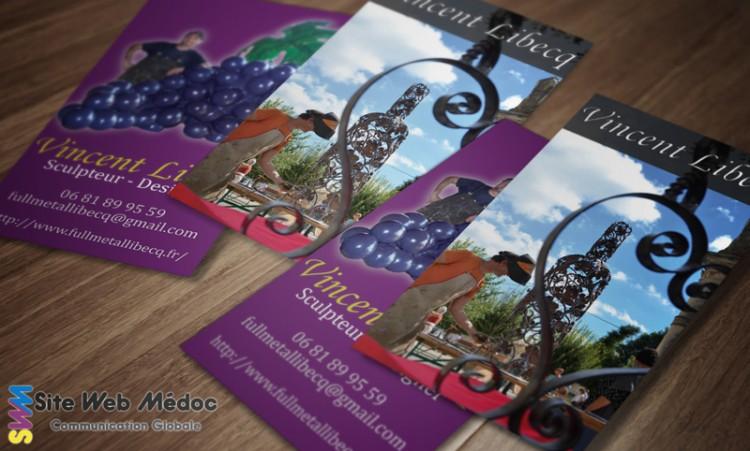 Libecq Vincent : Carte de visite