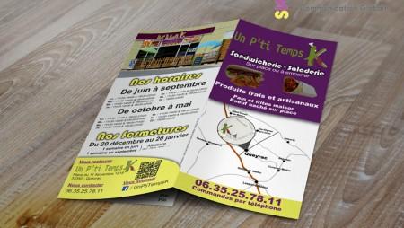 Flyer Un P'ti Temps K 2014