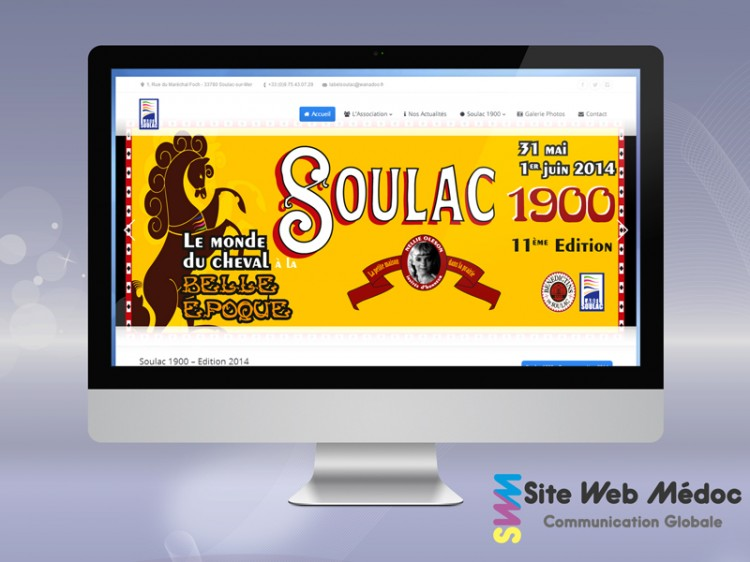 Association Label Soulac : Refonte