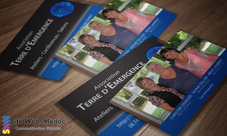 Terre d'Emergence : Cartes de visite