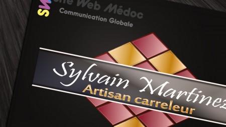 Logo Carreleur Sylvain Martinez 2014