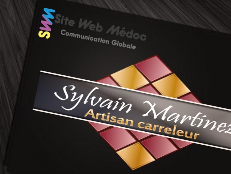 Carreleur Sylvain Martinez : Logo