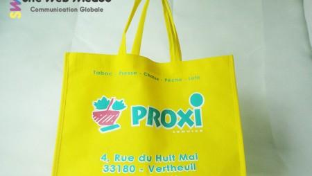 Sac publicitaire Proxi Vertheuil 2014