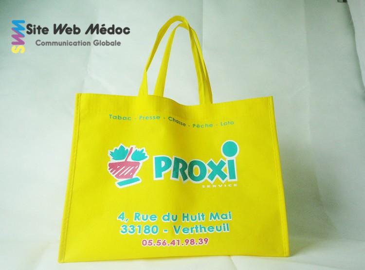 Proxi Vertheuil : Sacs publicitaire