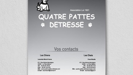 Calendrier 4 Pattes Détresse 2014