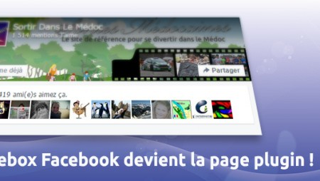 La likebox Facebook devient le « page plugin » !