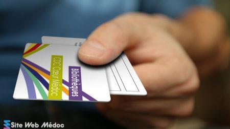Bibliotheque CDC Coeur Medoc Carte Emprunteur