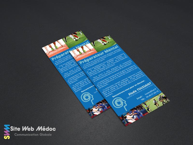 Carreleur Sylvain Martinez : Cartes de visite - Site Web Médoc