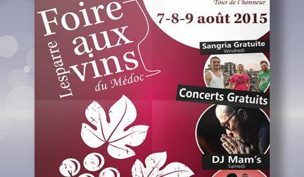 Foire aux Vins Lesparre-Médoc : Edition 2015