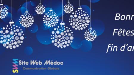 Fermeture hivernale de l'agence de communication Site Web Médoc